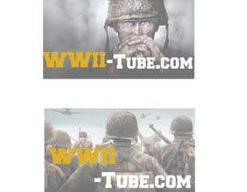 Nro 18 kilpailuun Design logo for WWII Game tube site käyttäjältä kashif9977