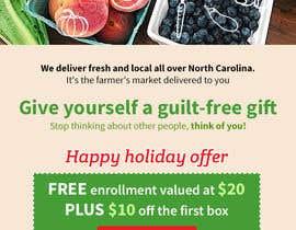 nº 34 pour Holiday Email Campaign par hemotim