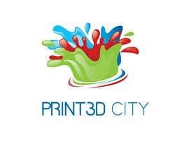 sununes tarafından Design a 3D Looking Logo - Print3D City için no 16