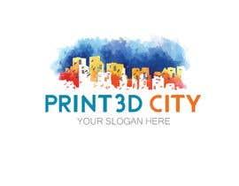 sununes tarafından Design a 3D Looking Logo - Print3D City için no 20