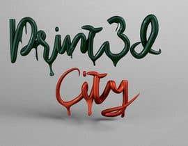 adrianapalencia tarafından Design a 3D Looking Logo - Print3D City için no 28