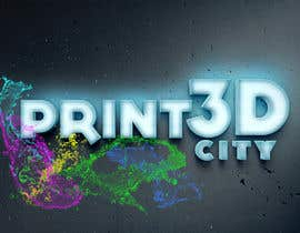 GabePamplona tarafından Design a 3D Looking Logo - Print3D City için no 10