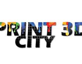 parulgupta549 tarafından Design a 3D Looking Logo - Print3D City için no 18