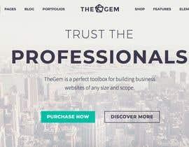 Nro 10 kilpailuun Design My Website using WordPress käyttäjältä br87