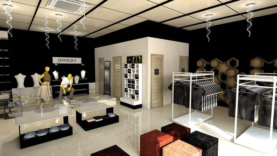 Contest Entry #8 For Exterior And Interior Design For A High End Fashion  Retail