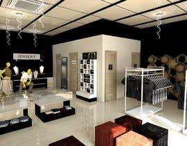 #8 dla Exterior and Interior Design for a High-end Fashion Retail Store -- 3 przez Shanjida14