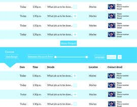 lbernierhardy tarafından Full Website Design Required - User Dashboard Creative Entries için no 5