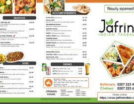 #30 pentru DESIGN INDIAN FOOD MENU de către sujithnlrmail