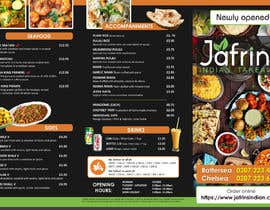 #44 pentru DESIGN INDIAN FOOD MENU de către sujithnlrmail