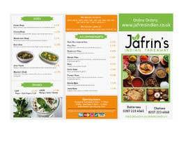Nro 21 kilpailuun DESIGN INDIAN FOOD MENU käyttäjältä aminayahia