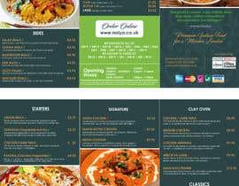 Nro 10 kilpailuun DESIGN INDIAN FOOD MENU käyttäjältä rahman4akt