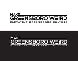 "DesignInverter tarafından LOGO ""Make Greensboro Weird"" için no 282"