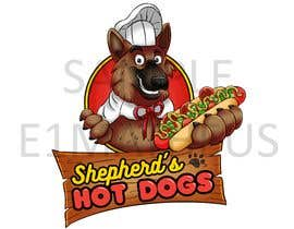 #147 for Design a logo for my hot dog business by E1matheus