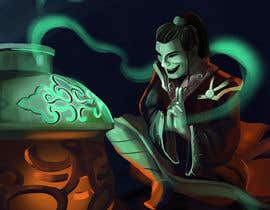 #45 for Illustrate or paint a character from a Chinese fantasy novel for use as a book cover by juliakushnareva