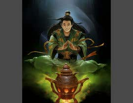 #33 untuk Illustrate or paint a character from a Chinese fantasy novel for use as a book cover oleh Grandeluxe