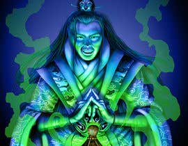 #38 for Illustrate or paint a character from a Chinese fantasy novel for use as a book cover by rikbelanger