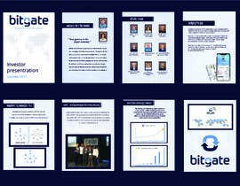 #26 for Design a Powerpoint Presentation for BitGate by sifatmirza1311