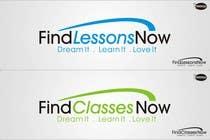 Graphic Design Kilpailutyö #283 kilpailuun Logo Design for FindLessonsNow/ FindClassesNow