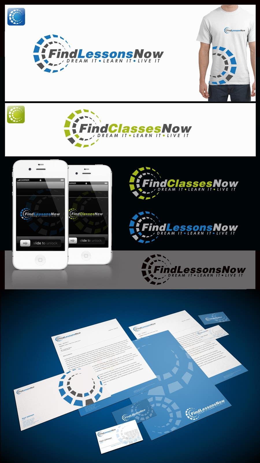 Bài tham dự cuộc thi #168 cho Logo Design for FindLessonsNow/ FindClassesNow