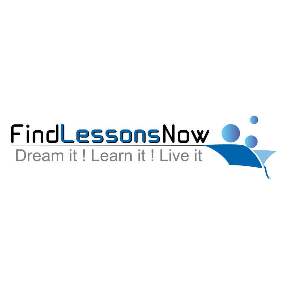 Конкурсная заявка №106 для Logo Design for FindLessonsNow/ FindClassesNow
