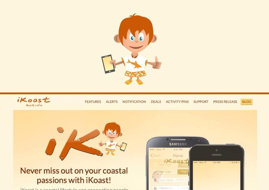 Inscrição nº                                         6                                      do Concurso para                                         iKoast App Mascot / LOGO