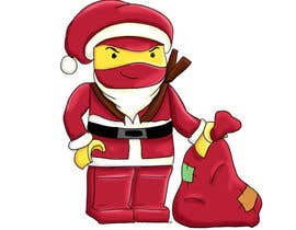#47 para Graphic Design for Christmas Ninja Outfit por aslikarabudak