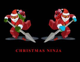 #52 para Graphic Design for Christmas Ninja Outfit por venug381