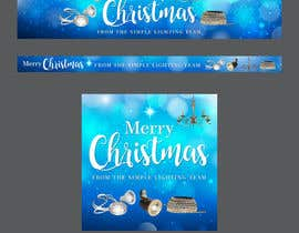 #14 untuk Christmas Day Themed Banner set for our website oleh vexelartz