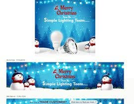 #37 untuk Christmas Day Themed Banner set for our website oleh satishandsurabhi