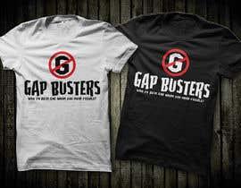 #151 untuk GAP BUSTER Logo T-shirt design oleh erwinubaldo87