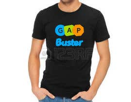 #149 pёr GAP BUSTER Logo T-shirt design nga Nazmulalam21