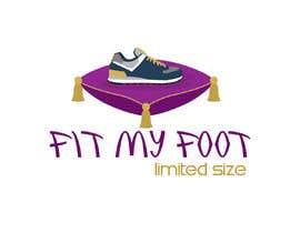 Nro 3 kilpailuun Logo design for online sneakers shop - Fit my foot käyttäjältä hsam123