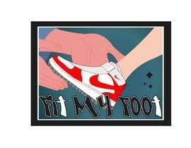 Nro 39 kilpailuun Logo design for online sneakers shop - Fit my foot käyttäjältä b4animations