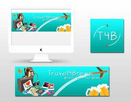 #83 for Design a header/banner and site icon for my travel blog by PixelPalace