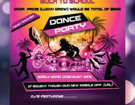 #34 for flyer design for a dance party by syhamsmt