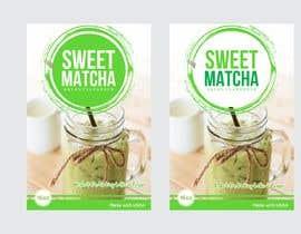 #43 untuk Sweet Matcha Label oleh Yusri94