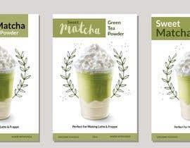 #73 untuk Sweet Matcha Label oleh kasiakubacha