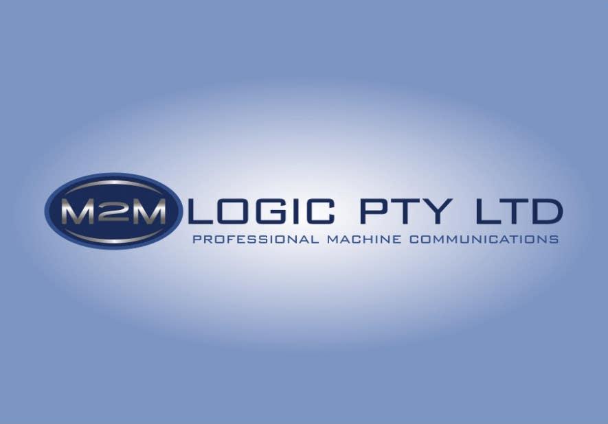 Bài tham dự cuộc thi #                                        550                                      cho                                         Logo Design for M2M Logic Pty Ltd