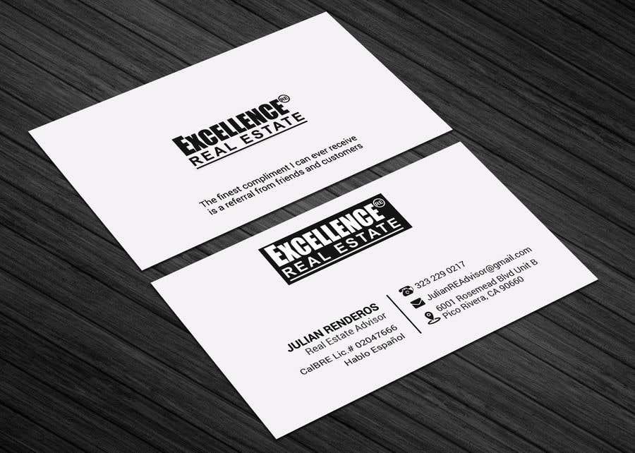 Συμμετοχή Διαγωνισμού #360 για Design some Business Cards Real Estate