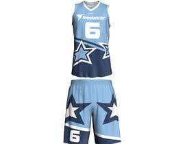 Nro 64 kilpailuun Design Basketball Jersey käyttäjältä libertBencomo