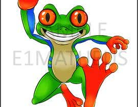 #32 for Create cartoon frog character for children's book af E1matheus