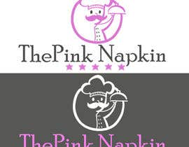 #67 for Design a Logo for ThePinkNapkin.com by miroslavaa1991