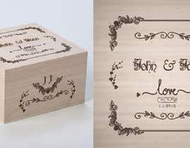 #24 for Wedding photo box - engraving design af AmritaBhardwaj