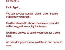 globalwebindia tarafından Ecommerce website monitoring and error reporting için no 9