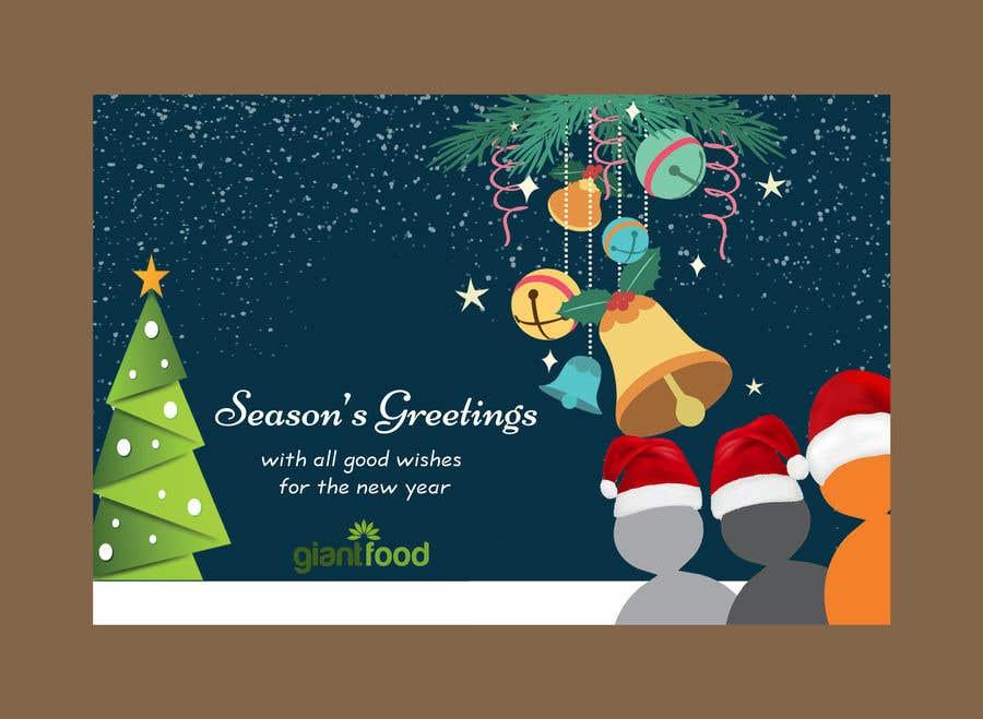 Company Christmas Cards.Entry 34 By Printrungraphics For Design Company Christmas