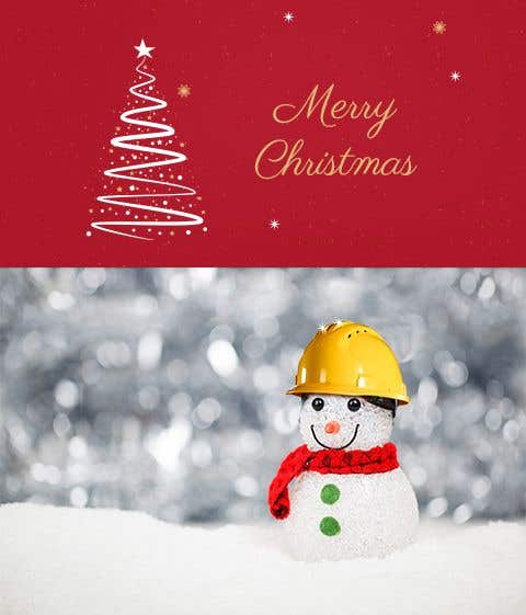Entry 5 By Amritabhardwaj For Graphic Design Simple Christmas Image For A Construction Company Freelancer