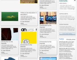 nº 4 pour Website Design for a Artist Social Network par Rich2012