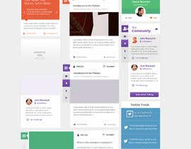 #22 para Website Design for a Artist Social Network por Bkreative