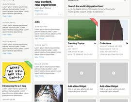 nº 40 pour Website Design for a Artist Social Network par davidgraeme