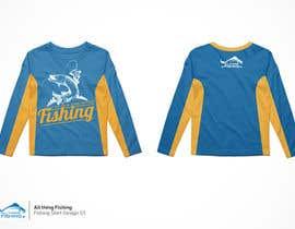 #16 untuk Design for a Fishing Shirt oleh Nazriv